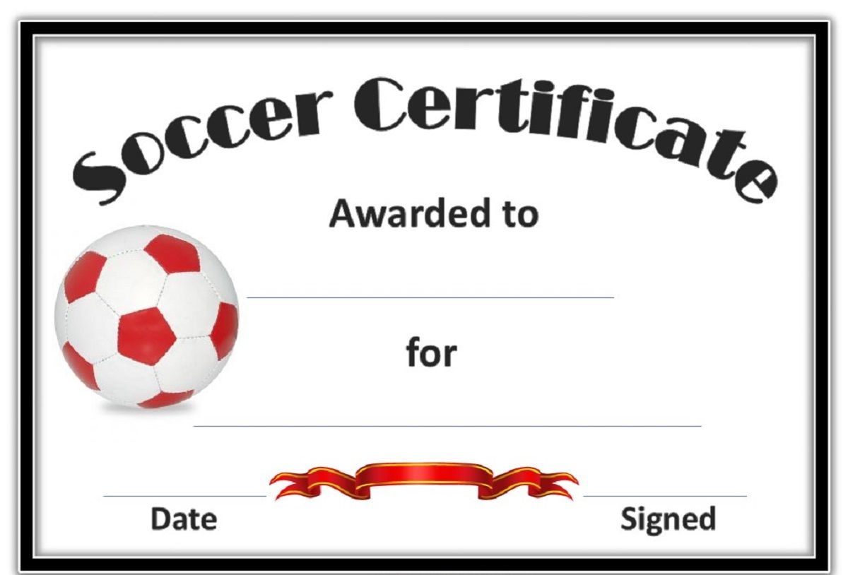 Soccer award certificates template kiddo shelter blank soccer award certificates template kiddo shelter yadclub Choice Image