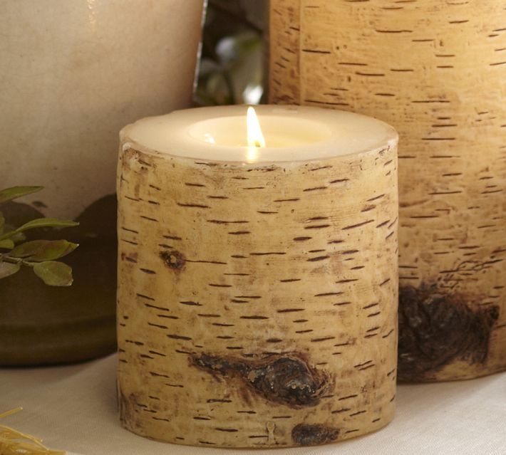 Knock Off Pottery Barn Birch Candles Jen And Dave S