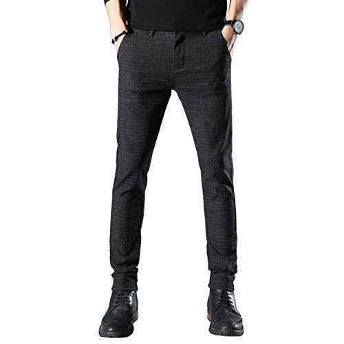 9e463a414e353 Shop online Movard Men s Slim Fit Casual Pants Wrinkle-Free