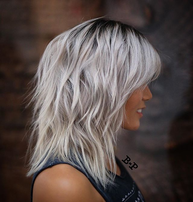 Modern Shag Haircut And Style By Buddywporter Hair