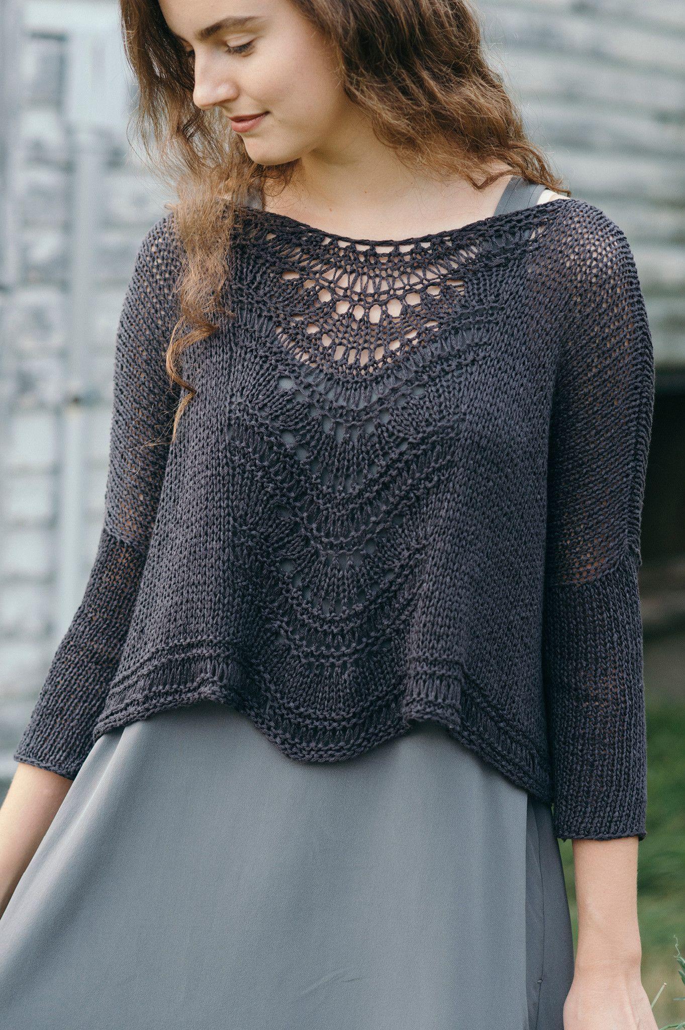 Deschain - Quince & Co | knit_3 | Pinterest | Stricken, Pulli und ...