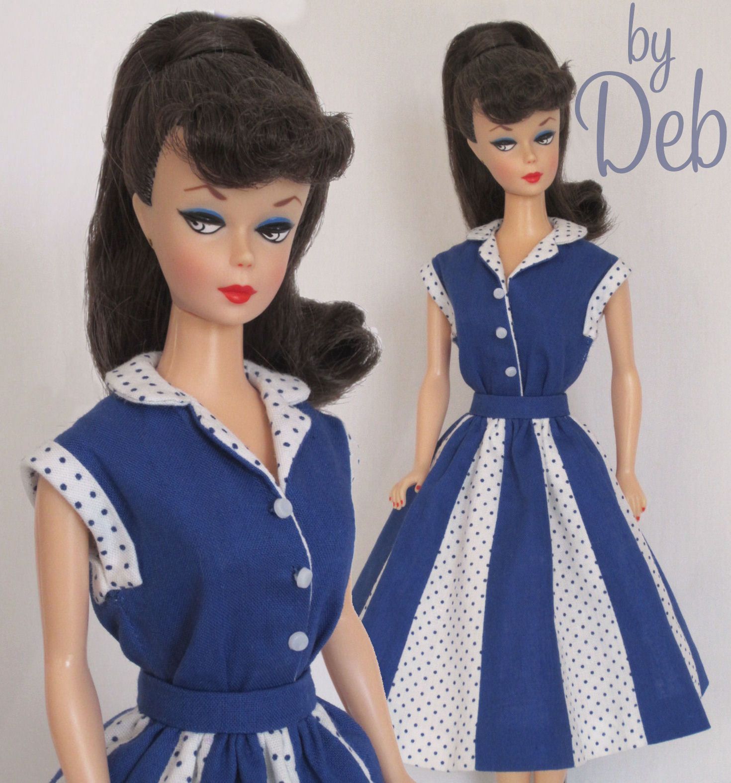 Game Time Vintage Barbie Doll Dress Reproduction Repro Barbie Clothes Fashions Ebay Doll Dress Vintage Barbie Clothes Barbie Clothes