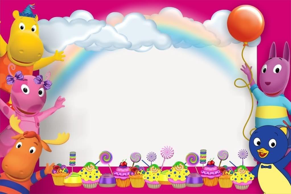 Invitaciones De Cumpleaños Pocoyo Para Descargar Gratis 14