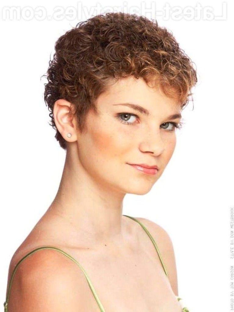 Cute Pixie Haircut For Curly Hair Tumblr Short Hairstyles