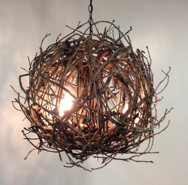 Aura Hickory Branch Twig Chandelier We Just Have A Ball With Our Lighting Twig Chandelier Twig Lights Artisan Interiors