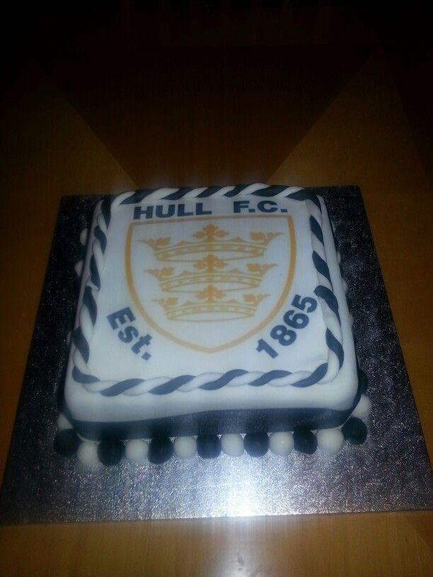 Hull fc cake Cakes I have made Pinterest Cake