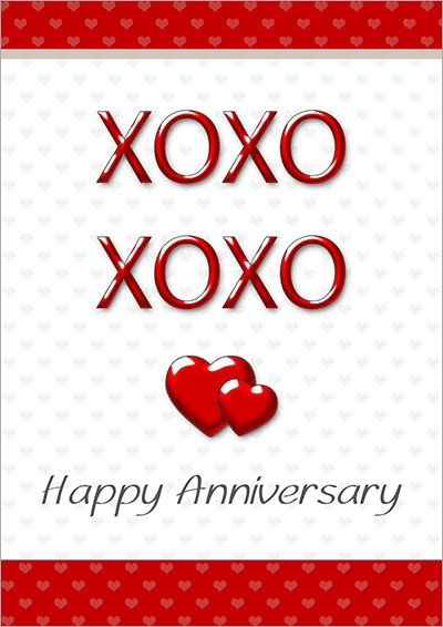 Free Printable Anniversary Cards The Word ~ Pinterest - free printable anniversary cards