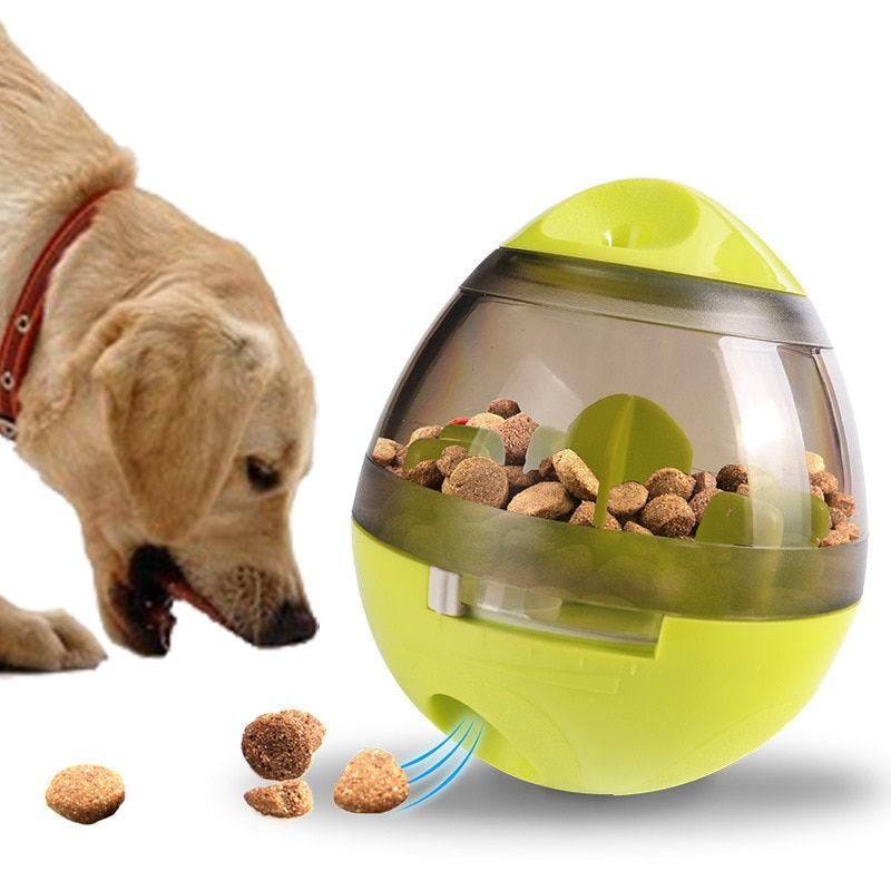 Dog Toy Tumbler Leakage Treat Dispenser Dog Food Recipes Dog