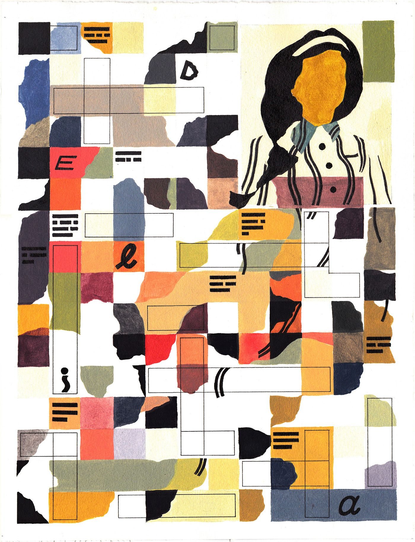 Crosswords on Behance