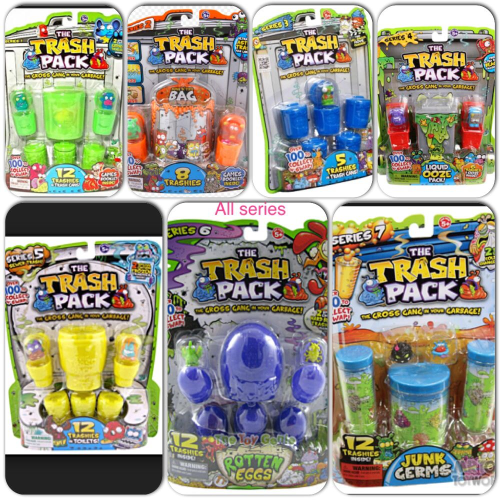All the series of the trash packs  Trash pack  Pinterest  Trash
