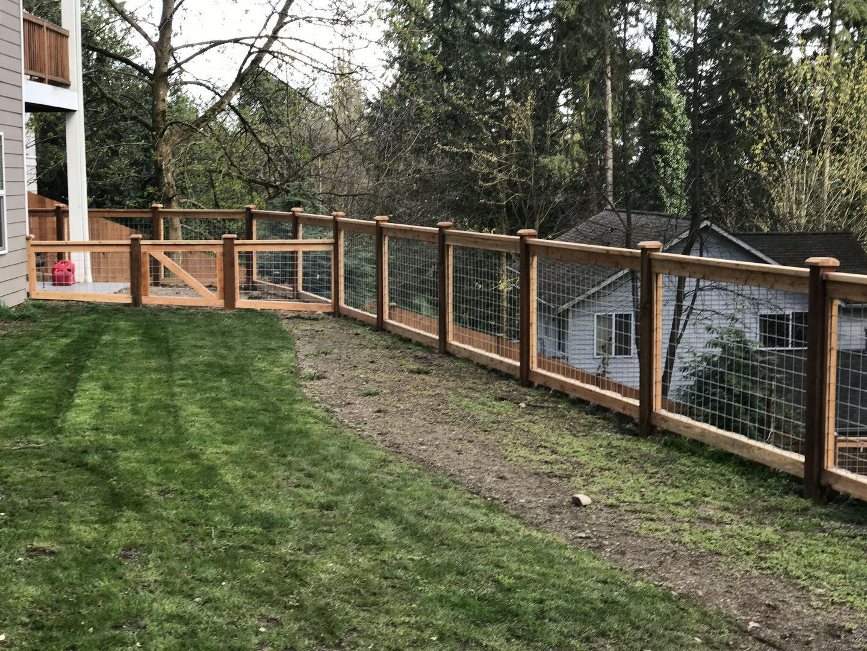 Hi Fi Wire Hog Wire Pool Fence Dog Proof Fence Pool