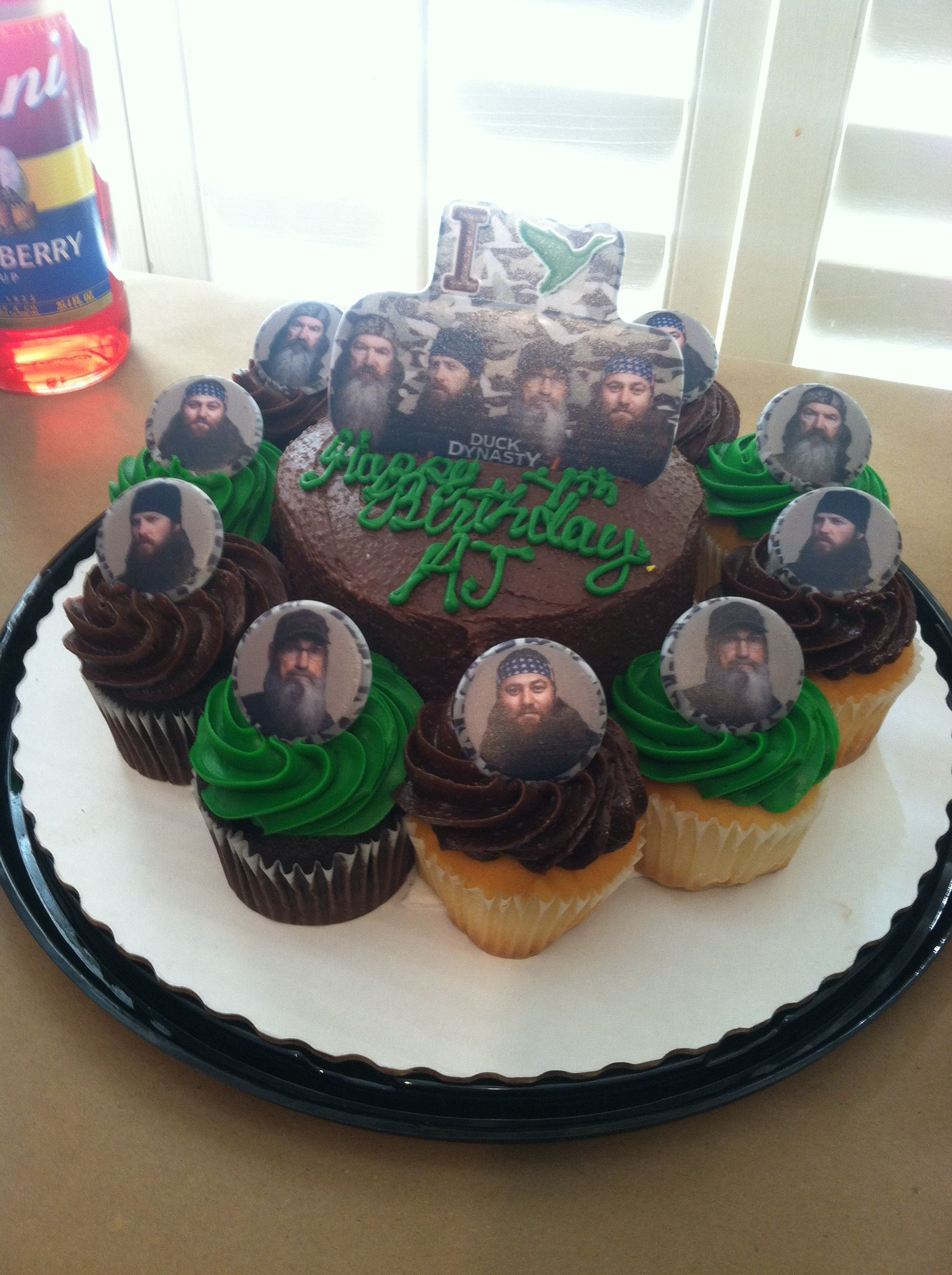 Duck Dynasty Cake From Sam S Club Party Ideas Duck