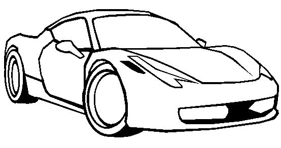Honda Acura Nsx Sport Coloring Page Acura Car Coloring Pages