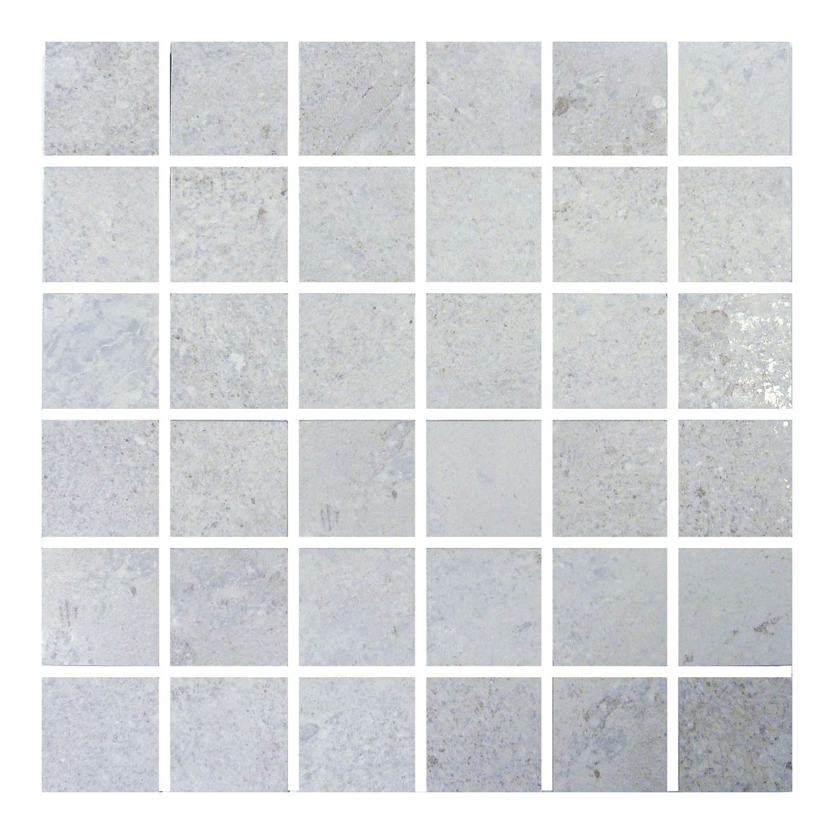 Grey Mosaic Bathroom Floor Tiles : Gemini hillock light grey mosaic bathroom kitchen