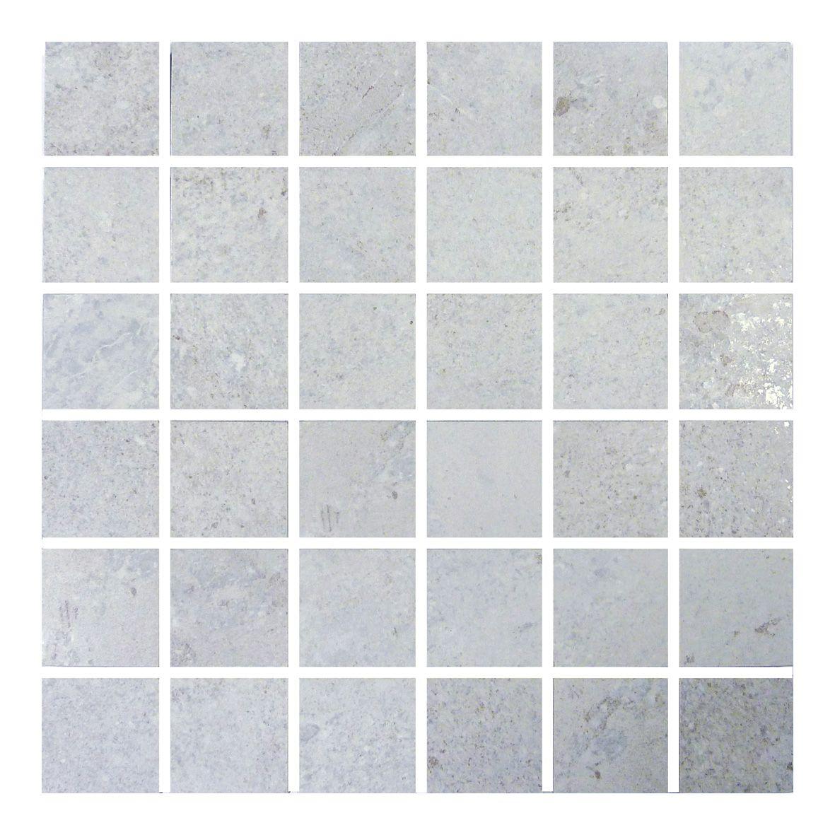 Gemini Hillock Light Grey Mosaic Bathroom, Kitchen, Wetroom, Living ...