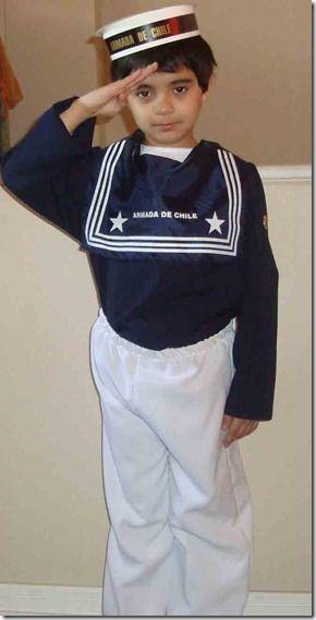 Como hacer una boina marinera en tela buscar con google vestidos marineros pinterest - Disfraz marinera casero ...