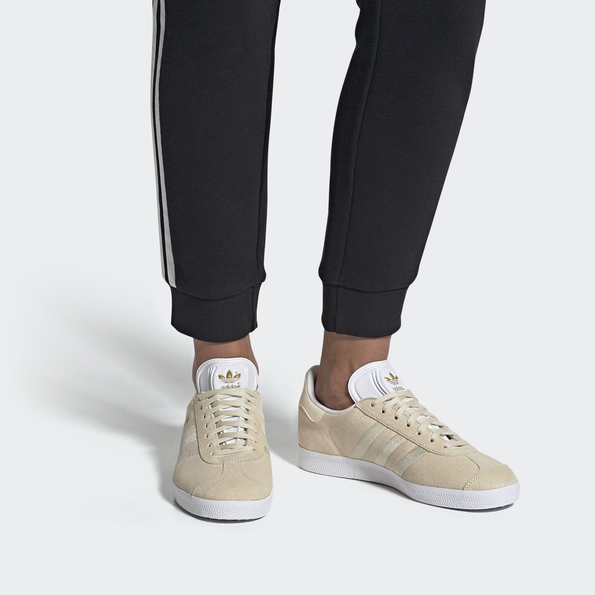 ADIDAS ORIGINALS Sneaker Damen, Weiß / Beige, Größe 37/37.5 ...