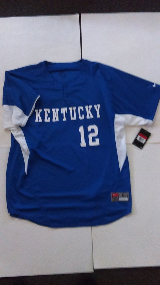 low priced e335f e7696 Nike Kentucky Wildcats Dri Fit Pullover Baseball Jersey ...