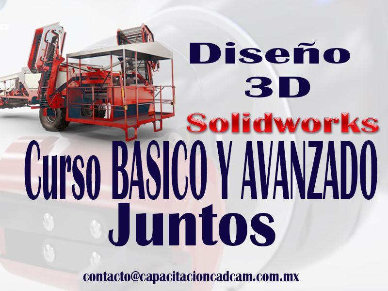 Curso SolidWorks 2016 Basico y Avanzado Juntos en Guadalajara y Edo de Mexico