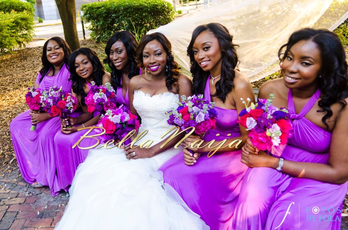 Always Knew You Were The One: Bisola & Edward Wed | Fotos By Fola ...