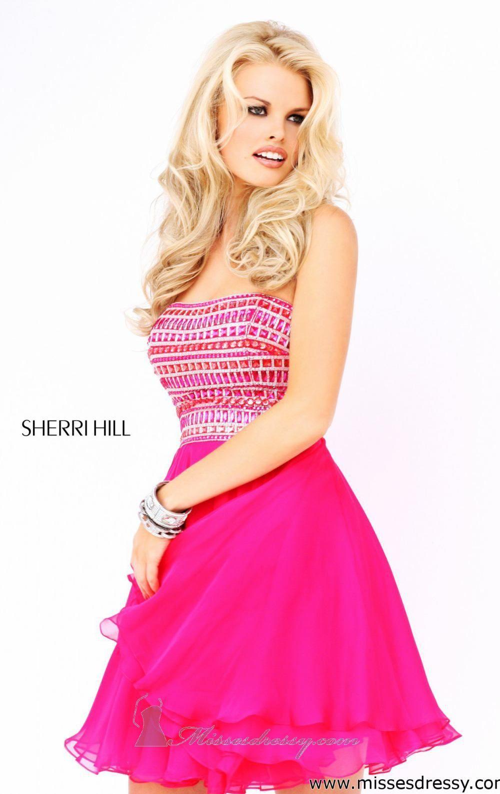 Sherri Hill 11028 | Spring 2013 | SHERRI HILL | Spring 2013 | Pinterest