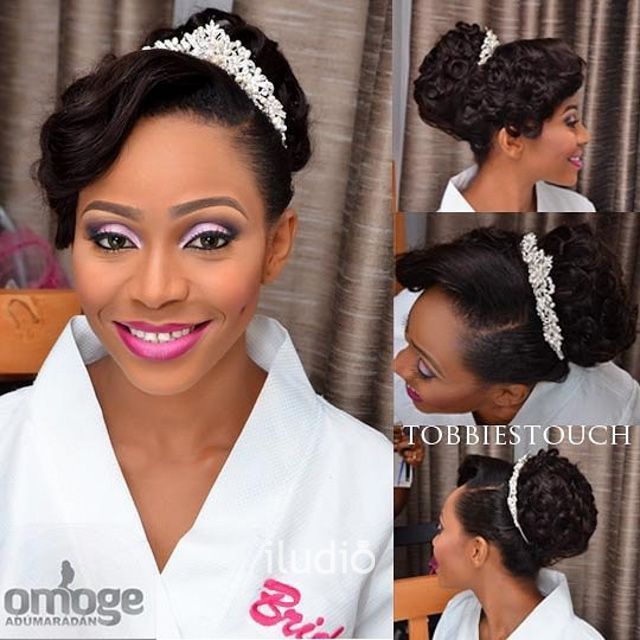 View Nigerian Wedding Brides Get Beauty Inspiration With