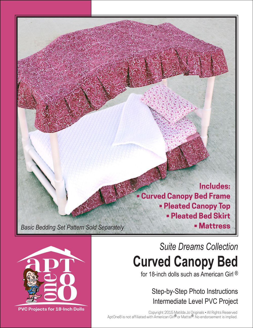 curved canopy bed on suite dreams collection curved canopy bed pvc pattern for 18 inch dolls 18 inch doll accessories canopy bed pvc projects pinterest