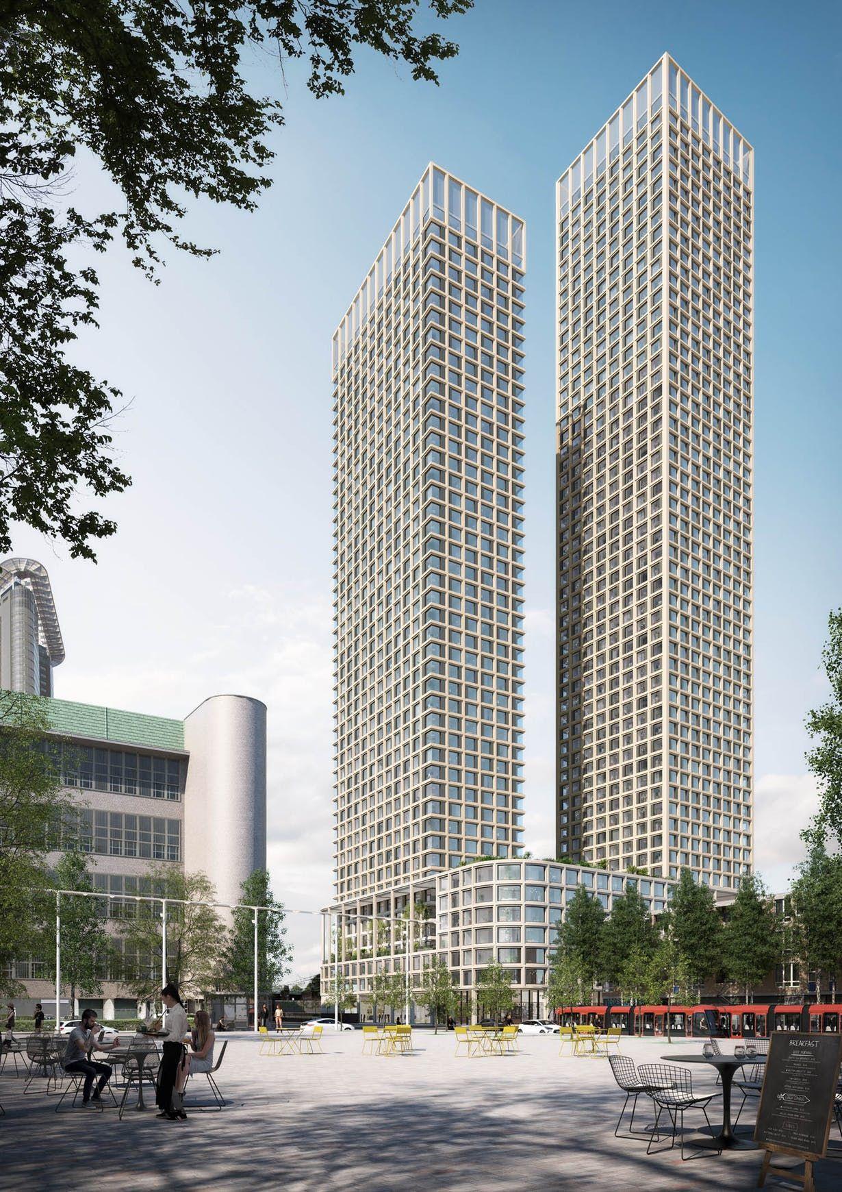 The Grace Mecanoo Archinect in 2020 Skyscraper