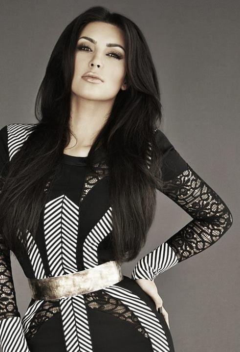 Kim Kardashian...love Hair, Makeup N Dress!