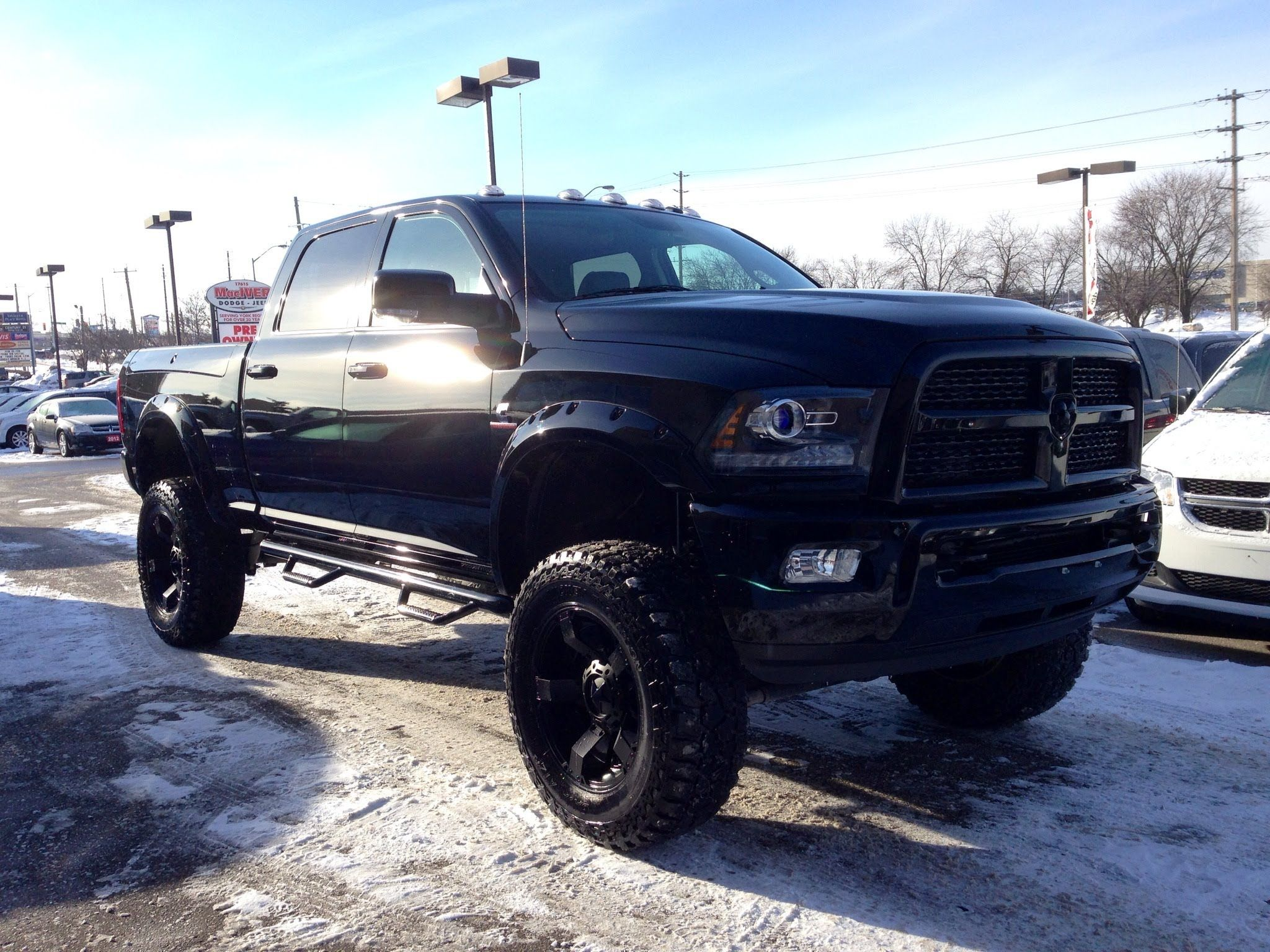 Lifted Dodge Ram Wallpaper Image 12 With Images Suv Trucks
