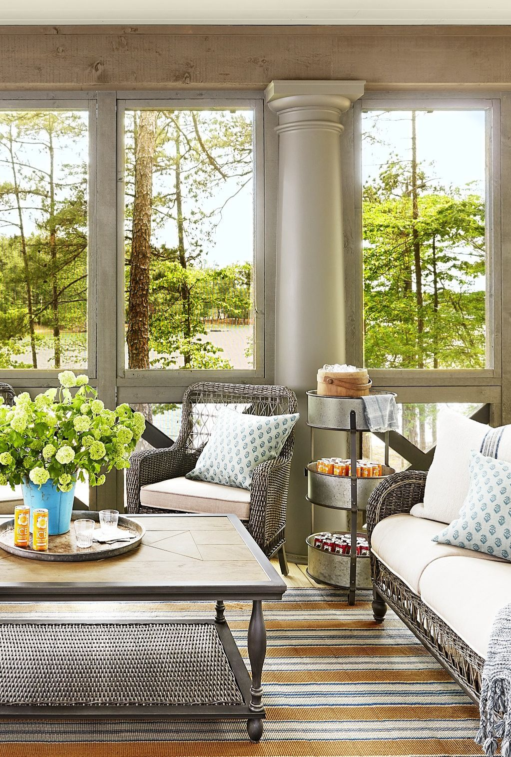 Home Additions Sunroom Decorating Four Seasons Room: 20 Sunroom Decorating Ideas That'll Brighten Your Space