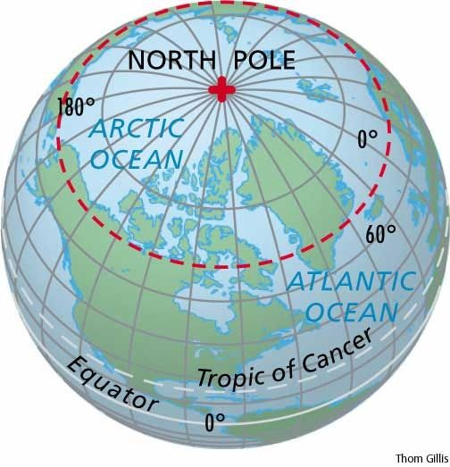North Pole Map  northpolemapjpg  Geography