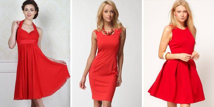 ccdbbd6ae24 Красные модели коктейльных платьев