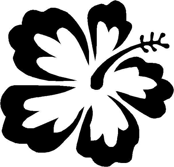 Free Coloring Pages Of Hawaiian Flowers Free Coloring Pages Hawaiian Flower Drawing Flower Coloring Pages Flower Drawing