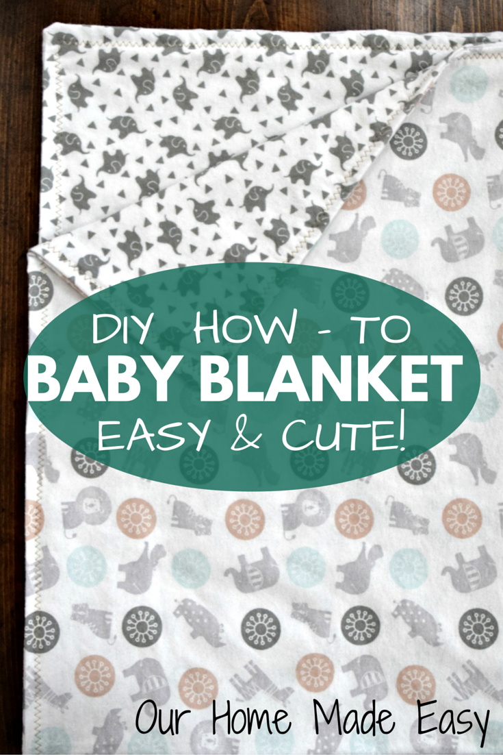 Homemade baby blankets are a very sweet gift to new mamas-to-be. Not only  can they be personalized with appliques and nursery colors b3d2149c8