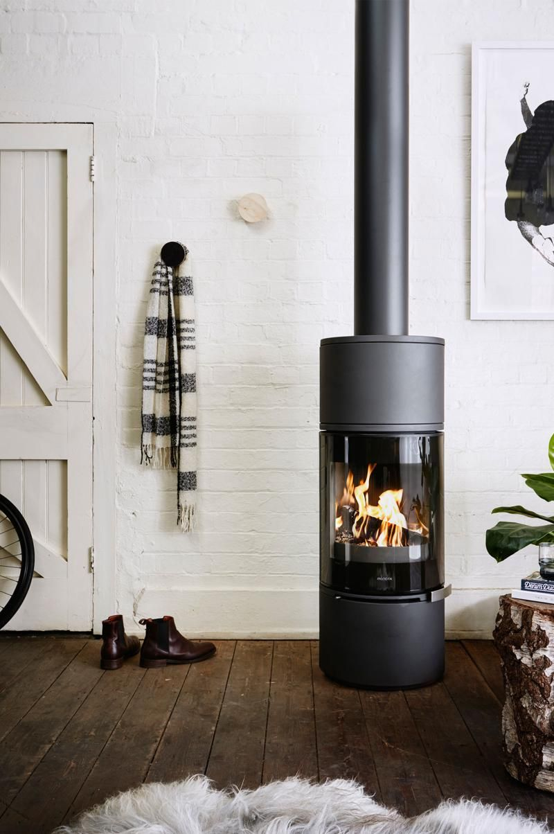 Invicta Alcor Wood Fireplace - Yes, Solid Fuel Fireplaces