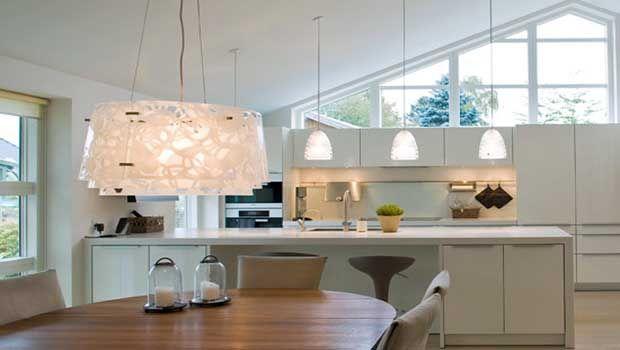 Iluminaci n cocina comedor awesome interiors pinterest - Luces para cocina ...