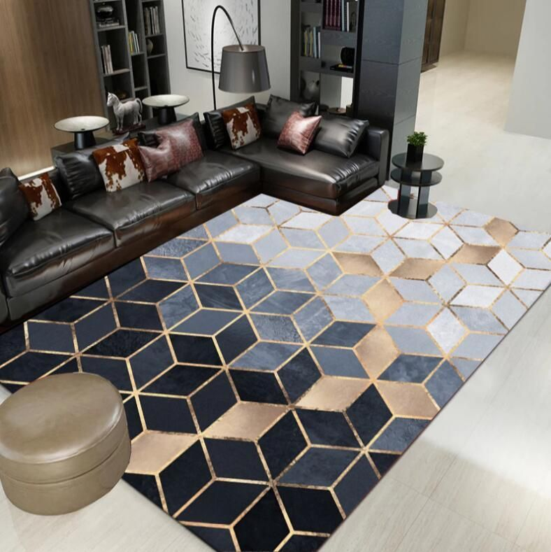 Modern Nordic Rug – Warmly in 2019 | Living room carpet ...