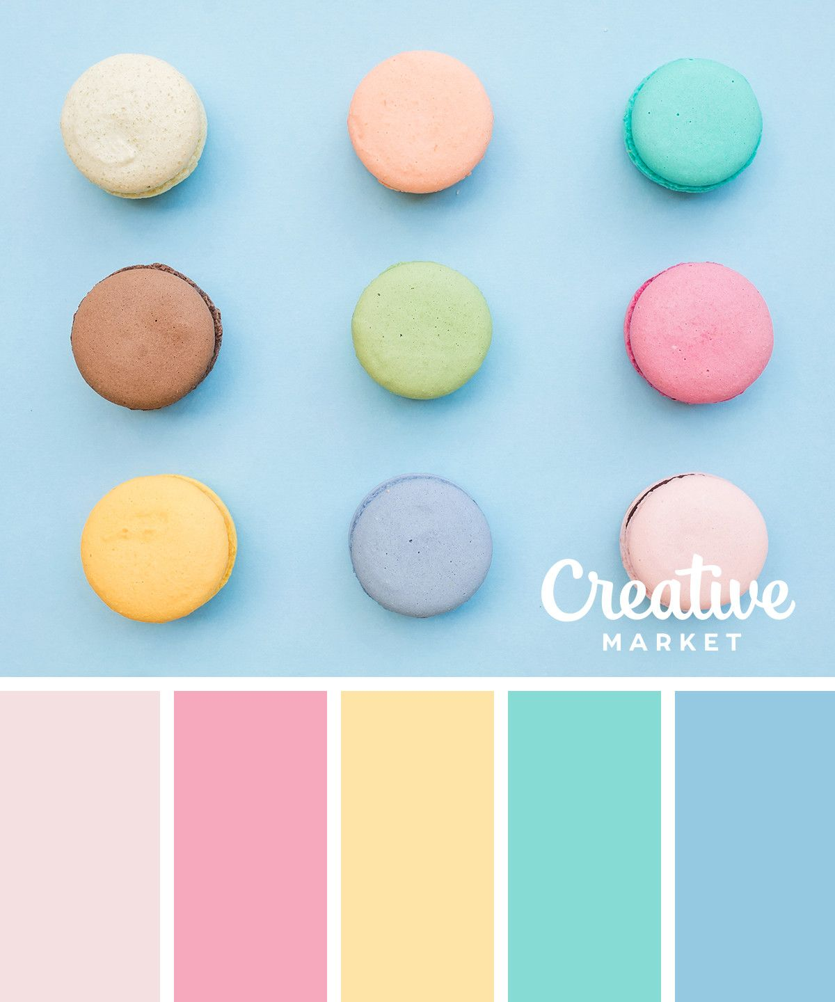 On The Creative Market Blog 15 Fresh Color Palettes For