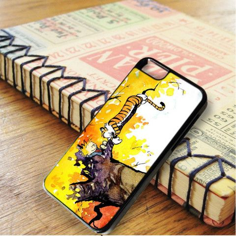 Calvin And Hobbes Sleep On Tree iphone case