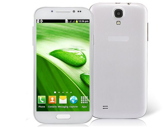 """White A9500 HTM S4 5.0"""" TM Android 2.3 Phablet Android"""