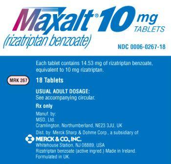 Canadian generic maxalt