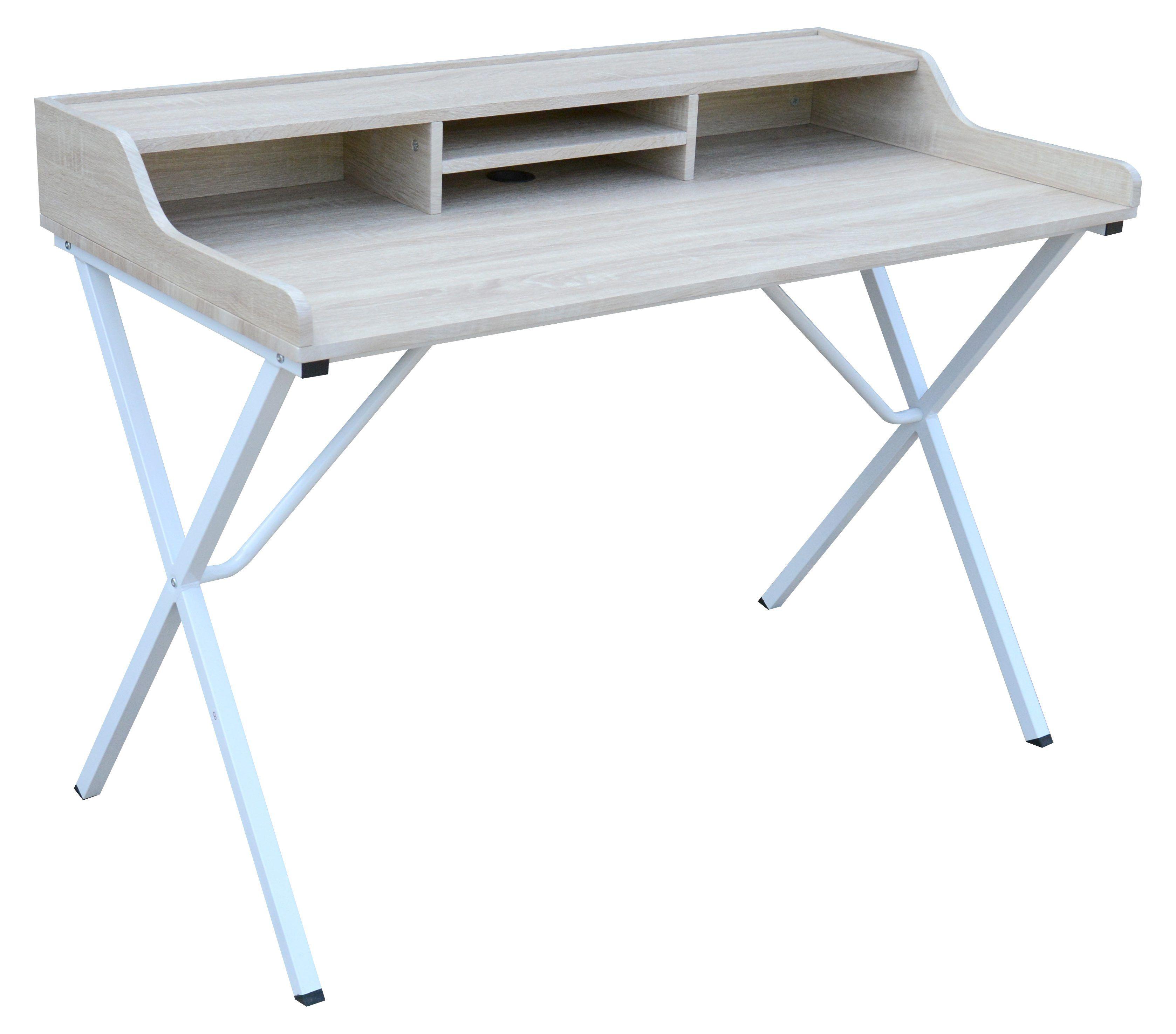 Pour Une Piece Design Le Bureau Arpege Chene Et Blanc S Accordera Parfaitement But Mobilier De Salon Meuble Canape Achat Meuble