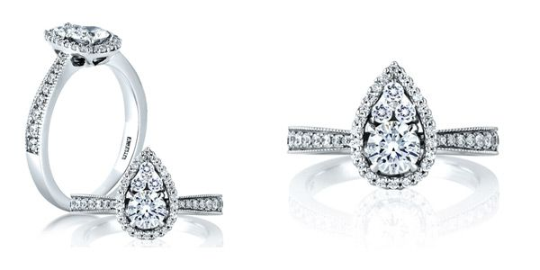 61 Awesome Engagement Rings – The Metropolitan Collection by A. Jaffe