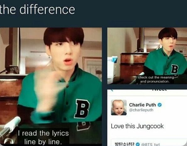 lmao people still making memes about this jungkookie is so sweet and adorable aAA //Jungkook *