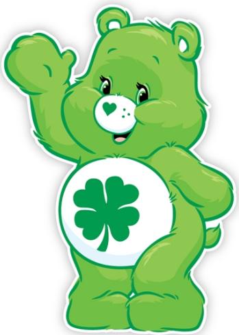 Good Luck Bear Bar Zeichnung Glucksbarchi Party Care Bear