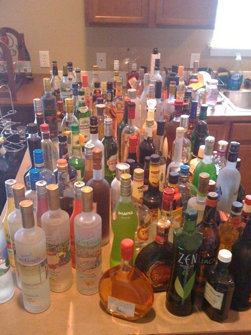College party drinks