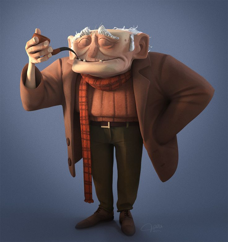Cartoon Characters Old Man : Image result for old man cute character design