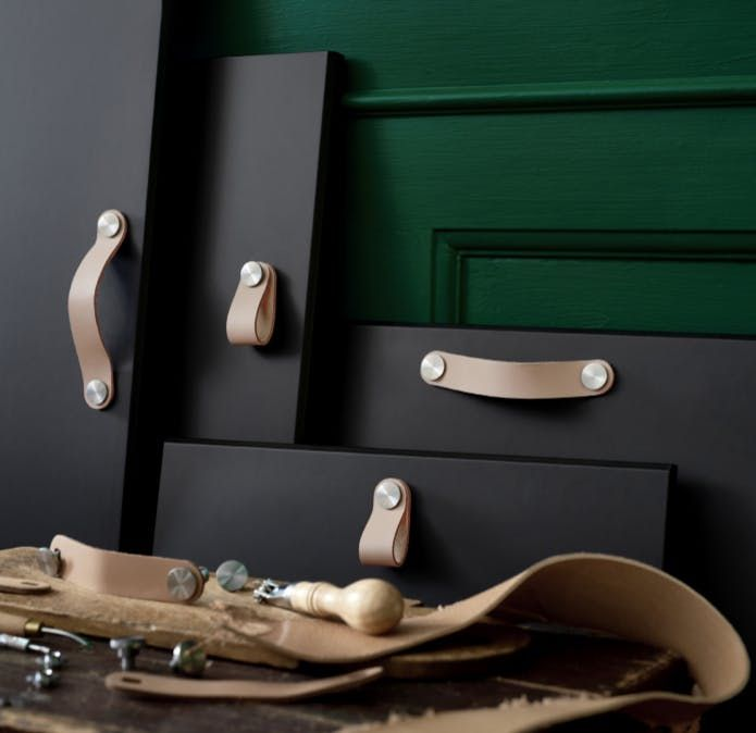 1 Osternas Leather Handles And Pulls Ikea Ikea 2018 Leather