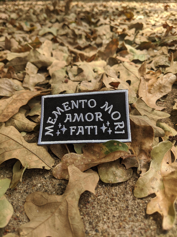 Marcus Aurelius Meditations Stoicism Quote Iron On Patch